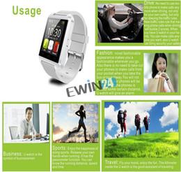 Nouvelle u8 bluetooth montre-bracelet à puce en Ligne-New U8 de haute qualité Bluetooth intelligente Wrist Watch Phone Mate Pour 100pcs AndroidIOS Iphone Samsung LG Sony