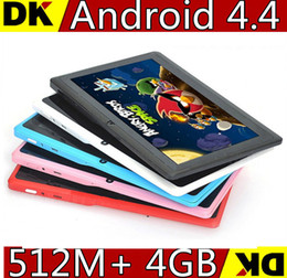 "10 pcs 7"" Allwinner A23 Q88 tablet pc capacitive Screen android 4.2 1.2GHz 512MB 4GB Wifi 6 colors"