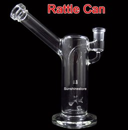 Wholesale Rattle Can FC aesthetic authentic Inches bubbler glass bong two functions YQ