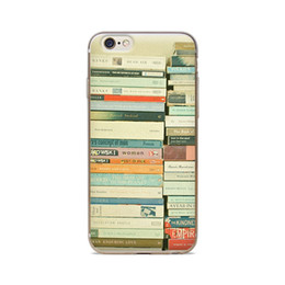 Wholesale For iPhone S S C S Plus A Stack Of Books Background Of Skin TPU Silicone Gel Protective Cover