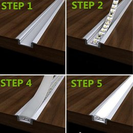 Wholesale 2015 Top Fashion Sale Led Aluminium Profile Convoy Led Bar Super Slim mm Channel Recessed Aluminum Profile with Flange Strip
