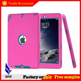 3 in 1 Defender waterproof shockproof dust proof military Heavy Duty case for ipad air ipad 234 ipad mini