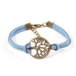 Promotion pendentifs en argent 000pcs Livraison gratuite nouveau bracelet d'arbre de souhait, antiquité pendentif arbre argent souhait - Bracelet en cuir - Best Chosen cadeau ,, arbre de vie
