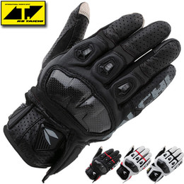 Wholesale NEW RS Taichi Armed racing Mesh Glove ATV MX enduro gloves Motocross Motorcycle motorbike glove Leather full finger