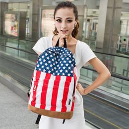 Syndicats d'usine à vendre-Les ventes directes d'usine union jack vent Colombie mâle à dos de drapeau américain de loisirs et étudiantes gros sacs américaine