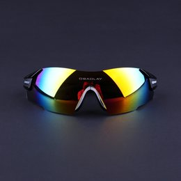 Cycling Sunglasses-Freeshipping Rimless Men Women UV400 Black Sport Bicycle Glasses Mountain Bike Goggles Ciclismo Eyewear