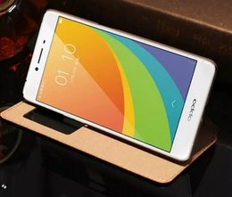 2016 Fashion For OPPO R7 S R7S Case Ultra-Thin Cover Luxury Original Colorful Flip Window Genuine Leather Case For OPPO R7S R7 S