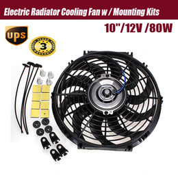 Wholesale 2015 New inch V Slim Reversible Electric Radiator Cooling Fan Push Pull Easy Install order lt no track