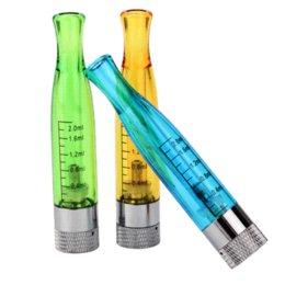 5 PC / porción de 2,0 ml GS H2 cigarrillo de vapor Serie Clearomizer atomizador Ego Fit electrónico E Cig CE4 batería recargable vaporizador desde serie ego recargable proveedores