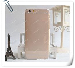 Crystal Hard Plastic Clear Transparent   Black  White Back cover case for iphone 6 6G   6+ Plus 4.7 Inch   5.5 Inch iPhone 5 5S 5C
