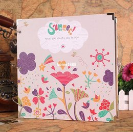 Wholesale DIY Photo album x29cm Couples baby family album scrapbook album with inside pages best gift