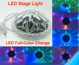 Wholesale Clearance Sale Color Mixing Sunflower LED Stage Lighting Red Green Blue Models Effects RGB Bar Party Christmas Light
