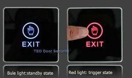 Wholesale Electric Door Exit Access Release Touch Button Open Door For Door Access Control Lowest Price