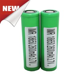 Wholesale 100 Authentic Sony Vtc5 mah batteries li ion Battery For vct4 V A Battery UPS TNT Fedex