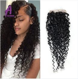 Jerry Curly Brazilian Virgin Hair Closure 6a Grade Virgin Unprocessed Human Hair 4*4 Lace Closure Queen Beauty Hair