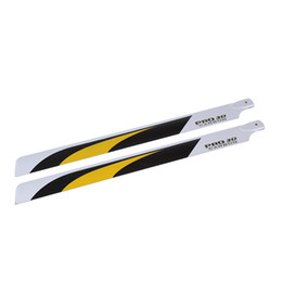 Wholesale Carbon Fiber mm Main Blades for Align Trex RC Helicopter Parts order lt no track