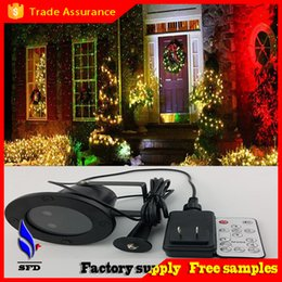 Wholesale Waterproof led Outdoor FloodLight Laser Firefly Stage Lights Landscape mini Projector Christmas Garden light Sky Star Lawn Lamps Decorations