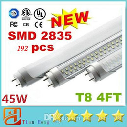 Wholesale 4ft W W W ft W ft W T8 FT Led Tube Lights lm CRI gt Warm Natural Cool White m AC V