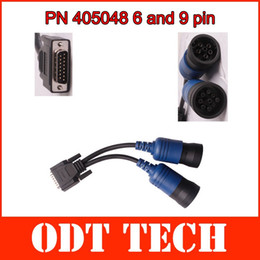 Wholesale PN and pin Y Deutsch Cummins Adapter for XTruck USB Link Diesel Truck Diagnose Interface