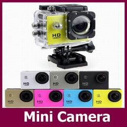 Caméscopes mini- en Ligne-vente d'usine SJ4000 Mini caméra HD 1080P action enregistreur vidéo appareil photo 5MP COMS étanche Mini DVR Camcorder 5pcs / lot