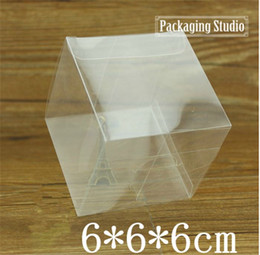 Wholesale Retail Clear Plastic Gift Package Box Cosmetic Bottle Electronic Wedding Favor Packing PVC Boxes cm