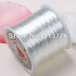 10Pcs White Stretch Elastic Bead Cord String For Bracelet 0.5mm 80Yard
