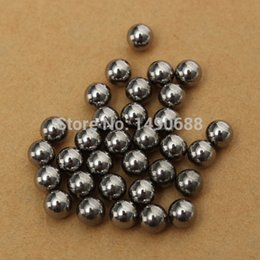 Wholesale 240pcs mm Dia Durable Bicycle Stainless Steel Ball Bearing Silver Tone Bikes Replacement Slingshot Ammo Smooth Surface