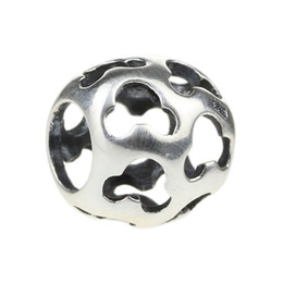Beads Hunter Jewelry Authentic 925 Sterling Silver Mouse charm s925 European jewelry big hole bead For 3mm European Bracelet snake chain