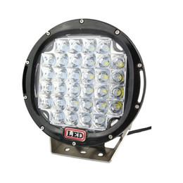 9inch 96W LED Work Light Tractor Truck 12v 24v IP68 SPOT Offroad LED Drive light LED Worklight External Light seckill 111W 160W 185W
