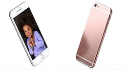 Wholesale 5pcs Aluminum Alloy inch Goophone i6s Plus G WCDMA MTK6572 MB GB GB GB GB Android MP Camera Nano Sim Smartphone