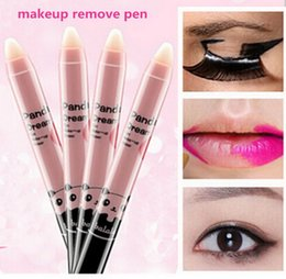 Wholesale Makeup Remover Pen The eyes lip fixed makeup pen convinient portable makeup remover Deep Clean