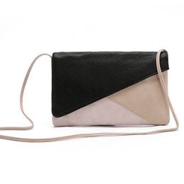 Wholesale Women New Fashion Artificial PU Leather Envelope Shoulder Bag Crossbody Messenger Bags