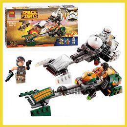 Wholesale 2016 New Star Wars Rebels Ezra s Speeder Bike Building Block Bricks toys Star Wars Toys Brick Baby Action Figures Gift