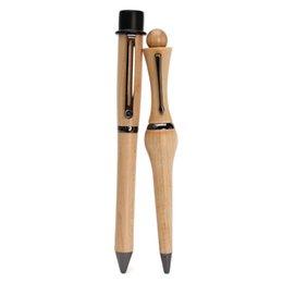 (2 Piezas / Set) Los amantes Oferta especial Bolígrafo Bolígrafo de madera ambiental Pen Creative Pen Corea Escuela Fuentes papelería desde sistemas de la pluma de madera fabricantes