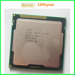 Wholesale I3 I3 Intel Original desktops cpu Intel Core I3 Dual Core I3 Ghz M nm LGA Dual CORE