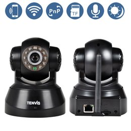 Wholesale Tenvis Wifi Wireless Baby Monitor IP Camera Security P T Phone Remote View Camera P2P network IOS amp Android Application