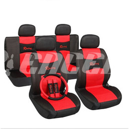 Wholesale nterior Accessories Seat Covers TS15 Universal Car Seat Covers Set Sandwich Material Interior Styling Accessories Car Care Covers