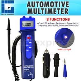 Wholesale E04 Pen Style Automotive Multimeter Car Application Test Voltage DC AC Frequency Resistance Digital Tester