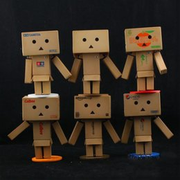 Wholesale Revoltech Danbo Mini Danboard Amazon Box Japan Kaiyodo Action Figure Toy Doll set