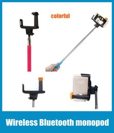 Wireless Bluetooth Monopod Selfie Stick Tripod Handheld Monopod Z07-5 2 in 1 For Mobile Phone Iphone Samsung IOS Android Smart Phone OTH006