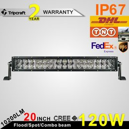 22'' 120W LED Light Bar 4D Combo Beam Driving Light Bar Offroad Fog Lamp ATV Offroad Car Boat Driving Lamp IP67