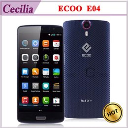 Wholesale ECOO E04 G LTE MTK6752 Octa Core Android Cell Phone inch FHD G G MP Camera Miracast Smart Wake