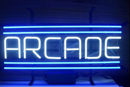 """Wholesale-Revolutionary Neon Christmas Gifts ARCADE Game Neon signs 19""""x15""""Available multiple Sizes! The best price with high"""