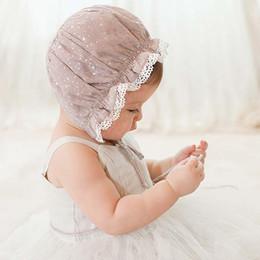 The new Girls Caps Kids Hats Korean Lace Beanie Hat Caps Kids Cap 2015 Princess Caps Hats Baby Hat Children Caps Infant Girls Hats