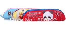 Wholesale-Free shipping!! Cute Panda Fabric Pencil bag   Pencil case   Pen pouch Bag Cosmetic bag