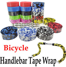 Wholesale Bicycle Cycling Handle Belt Bike Cork Handlebar Tape Wrap Cover Bar Plug