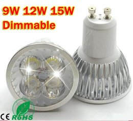 Wholesale Best Quality Ultra Bright CREE GU10 LED Bulb W W W V V Dimmable Led Spotlight Warm Cool White