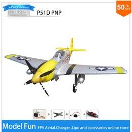 Envío Al por mayor-libres de avión RC aviones RC 2.4Ghz P51D PNP Plug and Play con motor.ESC.servo 1450mm avión de radio control de manía desde aeroplano juego fabricantes