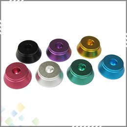 Wholesale High quality Atomizer Metal Base Display Aluminum Holder for Atomizer Thread Clearomizer DHL Free
