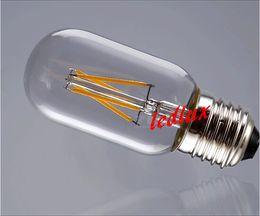 2014 New Design 220V 230V 240V Ultra Bright High CRI COB 2W 4W LED Filament Lights Bulb E27 Global Bulb Lights